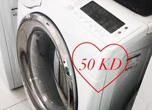 Daewoo washer 12kg capacity for sale / للبيع غساله دايو سعه 12 كيلو