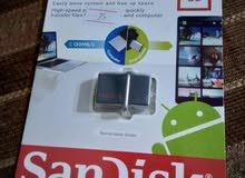 فلاش كمبيوتر ونقال sandisk 16GB
