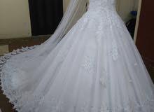 فستان عرائس للإيجار ولبيع