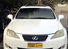 White Lexus IS 2008 for sale