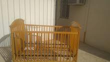 سرير خشب اطفال