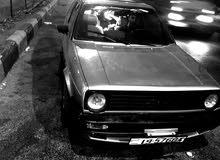 فولكسفاجن جولف 1986 للبيع او للبدل