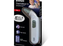 ميزان حرارة أذن براون الأصلي Braun Ear Thermometer model 3
