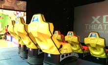6D Motion Ride XD-Theater 8 Seats