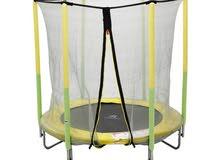 trampoline for kids full safety