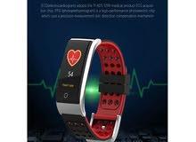 الساعه الطبية لقياس ضربات القلب وضغط الدم وتتبع اللياقة البدنية