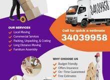 Professional Service House Villa Flat Rasturant Packing Moving Shifting all Bahr