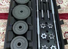  مجموعة أوزان تصل إلى وزن 50 كيلو جرام