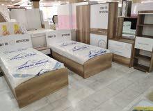 غرف نوم تركية بسريرين