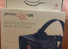نظارة الواقع الافتراضي pimax 4k