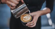 Looking for Barista  البحث عن باريستا  شخص يجيد إعداد القهوة