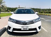 Toyota Corolla SE 2.0 2015 in Excellent Condition for Sale
