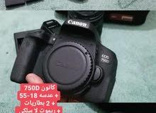 كاميرات كانون بسعر حلو جدا 750D # 700D