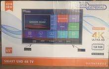 Super General 65inch 4K UHD Smart  Android Television Grey(1300 Final)