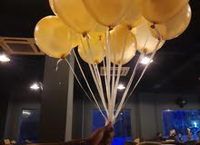 Helium balloon decorations, Party Decorations