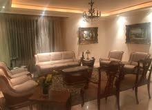 شقة طابقية مفروشة للايجار في منطقة جميلة في الرابية