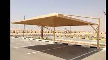 تصميم وتصنيع وتنفيذ السواتر والمظلات للمنازل والمحلات ومواقف السيارات خبرة 15سنة