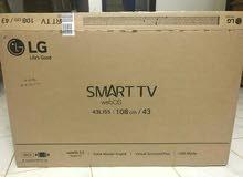 شاشات LG SMART 43 بوصه