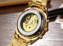 waterproof mechanical watch.stainless steel with