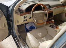 مرسيدس s600 نظيفة جدا وبسعر ممتاز