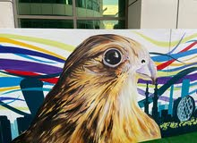 فنان تشكيلي رسام غرافيتي رسم لوحات - صور شخصية وجداريات
