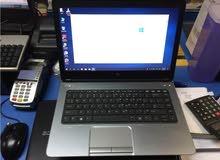 HP PROBOOK 640 CORE I5.جيل رابع رمات 4 جيجا هارد :320 ساتا //كالجديد تماما