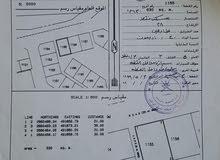 للبيع ارض سكنية في ديل ال عبد السلام جانب محطة المها