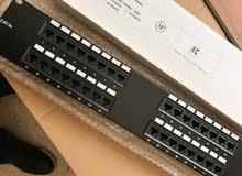 32 port patch panel منسق كوابل للشبكة الداخلية
