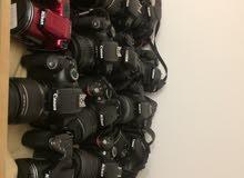 كاميرات مستعمل وجديد وملحقاتها عدد 180 كاميرا