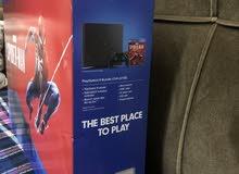 PlayStation 4 Jet Black نسخة Spider Man 1000Gb