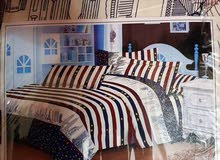 1queen size bed sheet and 2 pillow case