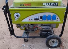 مولد كهرباء بنزين يشغل منزل تام معا التكييف