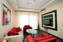 Available from a very special apartment-rent in Abdoun Al Shamali-daily and weekly rent-100 m