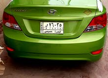 Green Hyundai Accent 2015 for sale