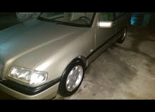 Beige Mercedes Benz C 200 1997 for sale