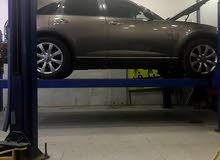 Used condition Infiniti FX35 2006 with +200,000 km mileage