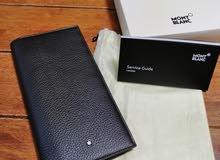 Montblac big wallet new original