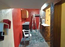 منزل يتكون من غرفتين وصاله وحمام وكوجينه نظام بار  مستقل