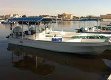 قارب للبيع محركات 115