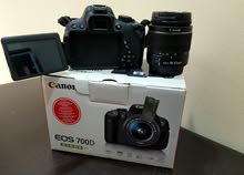 Canon 700D Touch skin like new full box