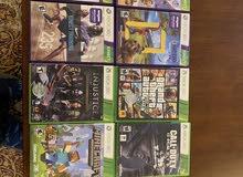 اكس بكس أصلي مستعمل لفترة قصيرة مع كنكت، عشر ألعاب أصلية و يدان أصليين