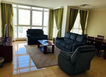 spacious  furnished apartment with sea view in Salmiya