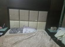 أثــاث غرفة نوم  رئيسية دبل كنج  مــنزل جديدة بحالة ممتازة للبيع