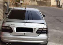 CLK 320 1999 Silver color