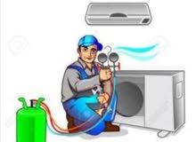 إصلاح المكيفات والثلاجات و الغسالات