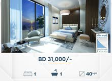 Freehold Studio Apartment for Sale in Juffair.