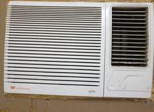 1.5 tonwhite westinghouse window AC availab efor sale.