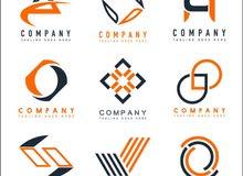 متوفر مصمم شعارات فقط لشركات او متاجر او مشاريع منزلية .