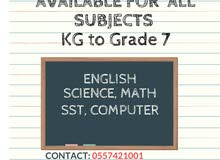 Online Tuition for KG to Grade 7