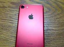 iphone7 احمر 128GB
